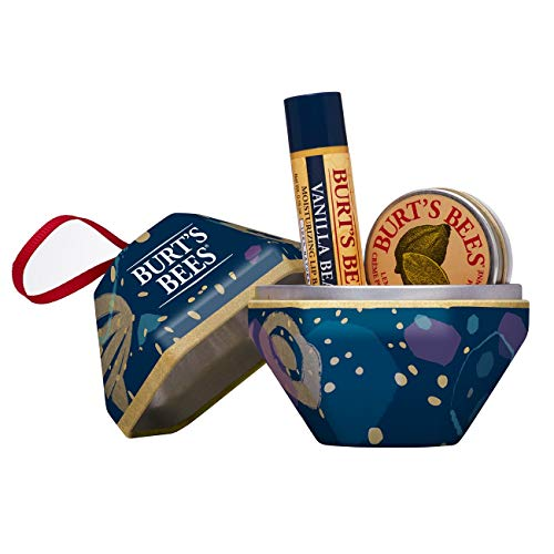 Burt's Bees A Bit 2 Stück Geschenkset - 100% natürlicher Vanille Lippenbalsam, 65 g