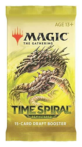 Magic: The Gathering Time - Paquete de refuerzo de borrador remasterizado en espiral   1 paquete