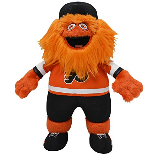 "Bleacher Creatures Philadelphia Flyers Gritty 10"" Mascot Plush Figure- A Mascot for Play or Display"