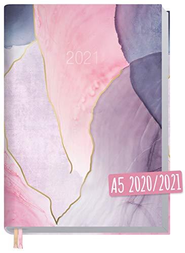 Chäff-Timer Classic A5 Kalender 2020/2021 [Soft Shades] Terminplaner 18 Monate: Juli 2020 bis Dez. 2021   Wochenkalender, Organizer, Terminkalender mit Wochenplaner - nachhaltig & klimaneutral