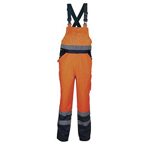 Cofra Warnschutz Latzhose Tuttle V294 Arbeitshose in Signalfarbe, orange, 40-00V29402-XXL