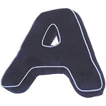 Unisex Riferimento DC per Adulti 40 x 10 x 0 Cuscino a Forma di Lettera F DCASA