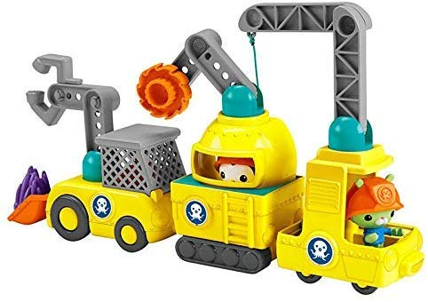 Octonauts Fisher Price Ultimate Octo-Repair Vehicle Set inc 3 Figures + 3 Vehicles / Ultimative Fahrzeuge und Figuren