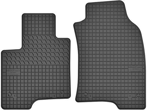 Motohobby Lot de 2 tapis de sol en caoutchouc pour Fiat Panda III (à partir de 2012)