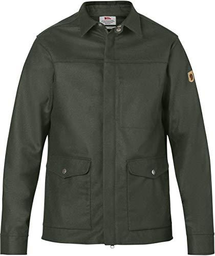 FJÄLLRÄVEN Greenland Re-Wool Shirt Jacket M - Jacke, Men L Grün - Deep Forest