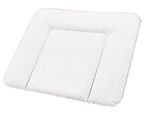Rotho Babydesign Tapis à Langer Matelassé, Royal, À partir de 0 mois, 85x72x7cm, Blanc, 204430001CI