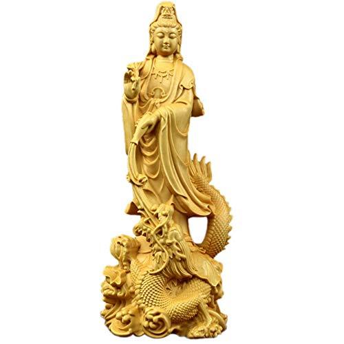 Statue Figurine Quan Yin Avalokite;Vara Meditating...
