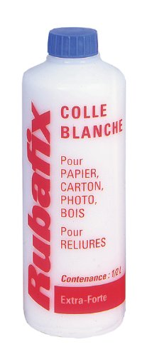 Rubafix 845000 Colle 500 ml Blanc