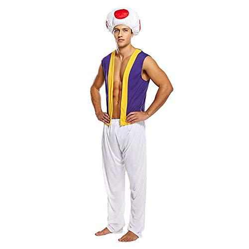 Pilz Kröte Kostüm - für Herren