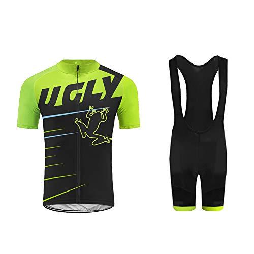 UGLY FROG T-Shirt Fahrrad Trikots Geschenke für Herren Radfahrer Mountain Bike MTB BMX Biker Rennrad Tour Outdoor Freeride Trail Cross
