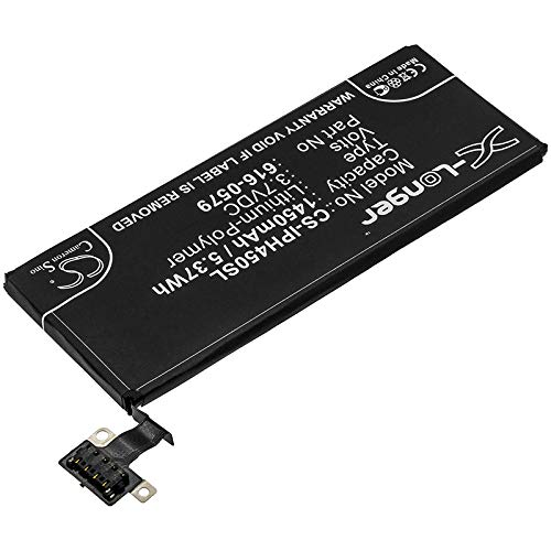 CS-IPH450SL Batería 1450mAh Compatible con [Apple] A1387, A1431, iPhone 4S, iPhone 4S 16GB, iPhone 4S 32GB, iPhone 4S 64GB, MC918LL/A, MC919LL/A, MC920LL/A, MC921LL/A, MD269LL/A, MD276LL/A, MD277LL/A