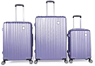 Magellan Trolly Luggage Set 3 PCs, A8927-L.PURPLE
