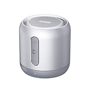 Anker Soundcore mini, Super-Portable Bluetooth Speaker with 15-Hour Playtime, 66-Foot Bluetooth Range, Enhanced Bass, Noise-Cancelling Microphone
