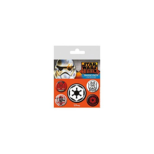 Pyramid International Star Wars Rebelles Méchant Multicolore 10 x 12,5 x 1,3 cm
