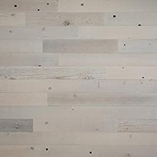 Timberchic DIY Reclaimed Wooden Wall Planks - Simple Peel and Stick Application. (4