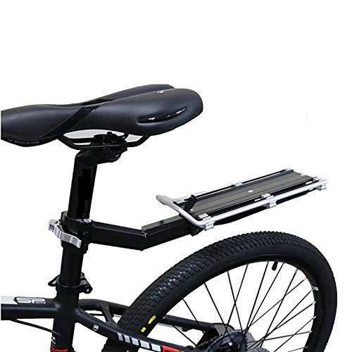 Bicicletta Posteriore Rack Mountain Portapacchi Posteriore in Lega Di Alluminio a Sgancio Rapido Portapacchi per Bicicletta Portaborse da Scuola Accessori per Biciclette Attrezzatura da Equitazio