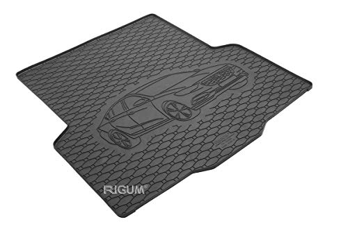RIGUM Passgenaue Kofferraumwanne geeignet für OPEL Insignia Grandsport ab 2017 + Autoschoner MONTEUR