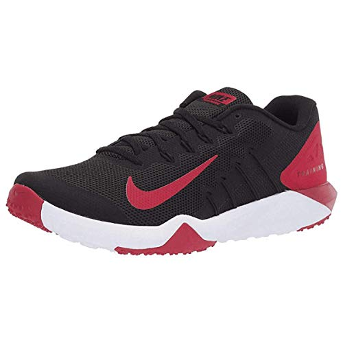 Nike Men's Retaliation Trainer 2 Training Shoes (9, Black/Gym Red/Anthracite)