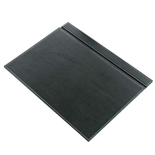 Calme-N - Vade de escritorio (49 x 34 cm, con función abatible, piel sintética, 6 colores a elegir), color verde