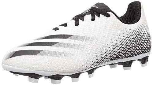 adidas Herren X Ghosted 4 Flexible Ground Fußballschuh, FTWR White, 44 2/3 EU