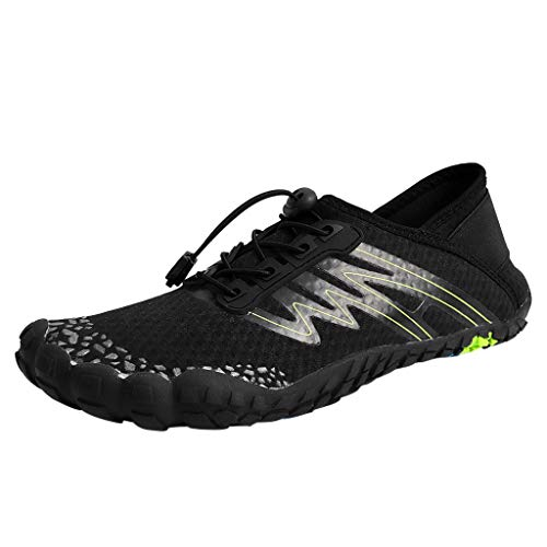 FAMILIZO Zapatillas Mujer Running Zapatillas Deportivas De Mujer Sneakers Women Primavera Verano Pareja De Playa Natación Zapatos De Agua Rápida-Dry Aqua Cordón Creek Buceo Zapato
