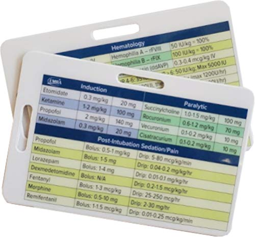 EMRA Critical Medications Reference Cards