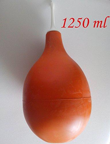 Peretta - Pera in gomma naturale con cannula rigida Nr 20 (1250 ML) - Clistere - JONPLAST