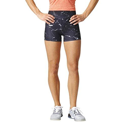 adidas Damen Highwaist Shorts Kurze Hose, Mehrfarbig/Multco/Negro, M