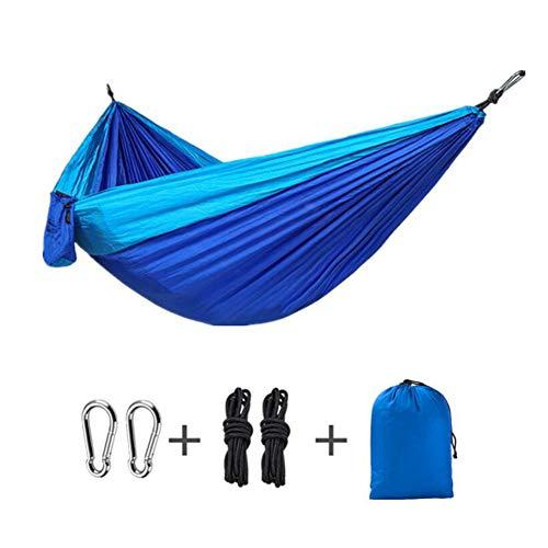 ZY Hamac De Camping, Balançoire De Parc Double Tente De Levage Résistant À La Déchirure Antenne Extérieure Couleur Correspondant Hamac