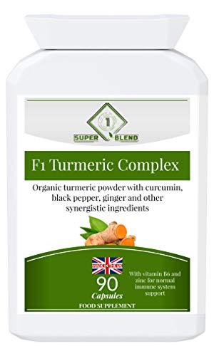 F1 Turmeric Complex 90 Capsules
