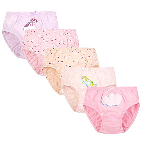 RAISEVERN Ropa Interior para niños Calzoncillos bóxer para bebés pequeños Patrón de...