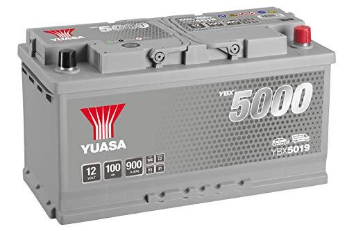 Yuasa YBX5019 12V 100Ah 900A Silver High Performance Battery