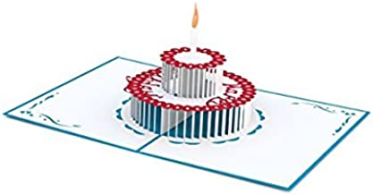 Birthday Cake Pop Up Card, 3D Card, Greeting Card, Birthday Card,3d cards pop up,By Veizn
