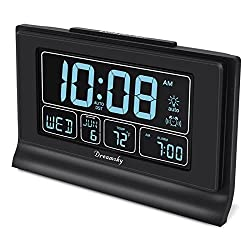 The 10 Best Alarm Clock With Dates