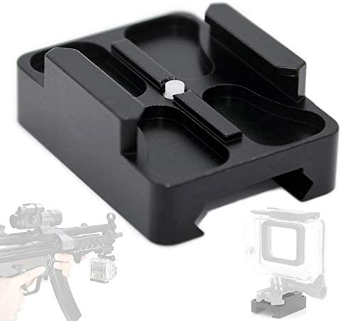 FOCUS REVISION Tactical Picatinny Weaver Under Connected Camera Gun Rail Mount for GoPro HD product image