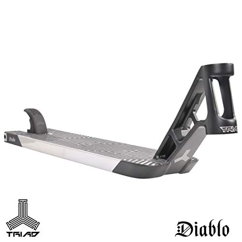 Triad Diablo Stunt Scooter Deck (Black/neo Silver)