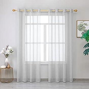 Best grey sheer curtains Reviews