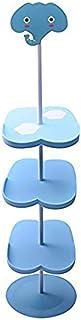 Befitery - Repisa vertical para zapatos zapatero estantería para niños Elefante
