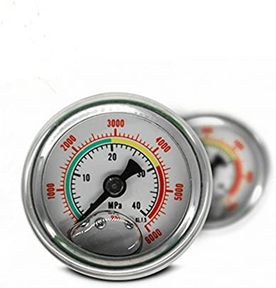 MXBAOHENG High Pressure Gauge Max 46% OFF 40Mpa 6000PSI with PCP H San Antonio Mall for M10X1
