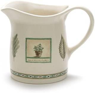 Naturewood by Pfaltzgraff, Stoneware Cream Pitcher