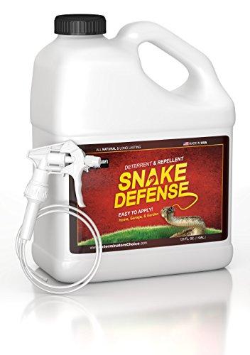 Exterminators Choice Snake Defense Spray | 1 Gallon | Non-Toxic Snake Repellent Spray | Quick and Easy Pest Control to Keep Snakes Away…
