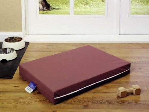 Medizinisches Hundebett PULMACELL® safe, 80x120x8 cm, rot