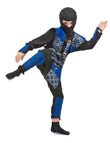 Disfraz Azul de Ninja Para Niño 10 - 12 Ans (L)