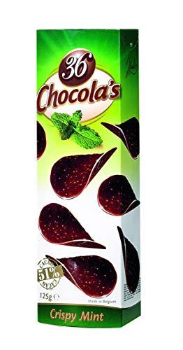 12 x Chocolade Chocola's Mint (36 stuks) 125 gram