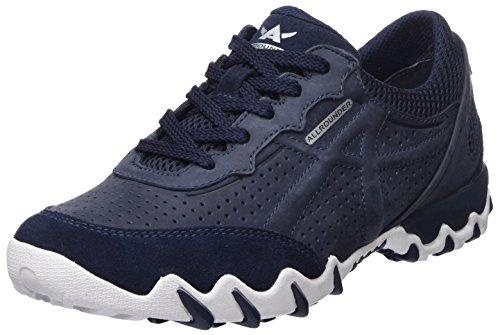 Allrounder by Mephisto Damen NANJA Sneaker, Blau (Indaco), 39 EU