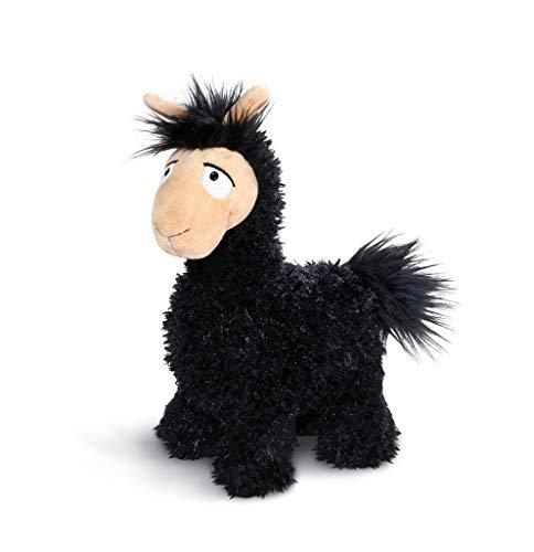 NICI 43574 Kuscheltier Lama Lorenzo, 32 cm, schwarz