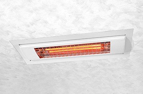Etherma 9100269 - Solamagic accesorios, marco empotrada en el techo para sm-1400/2000, blanco