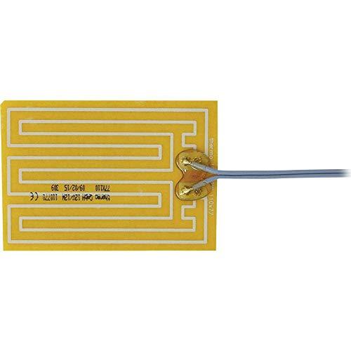 Thermo TECH Polyester Heizfolie selbstklebend 12 V/DC, 12 V/AC 12 W Schutzart IPX4 (L x B) 110 mm x 77 mm