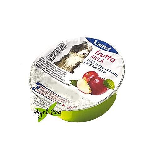 Polpa di Frutta fresca per cani pura Mela 100gr