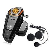 QSPORTPEAK BT-S2 Interphone Bluetooth pour casque de moto, kit de système de...